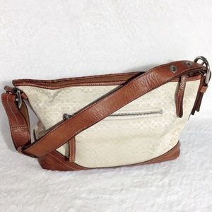 Coach Signature Shoulder or Crossbody Handbag